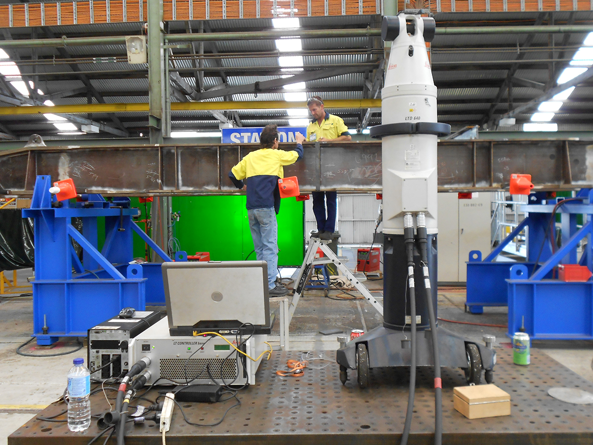 Laser Tracker Inspection & Measurement